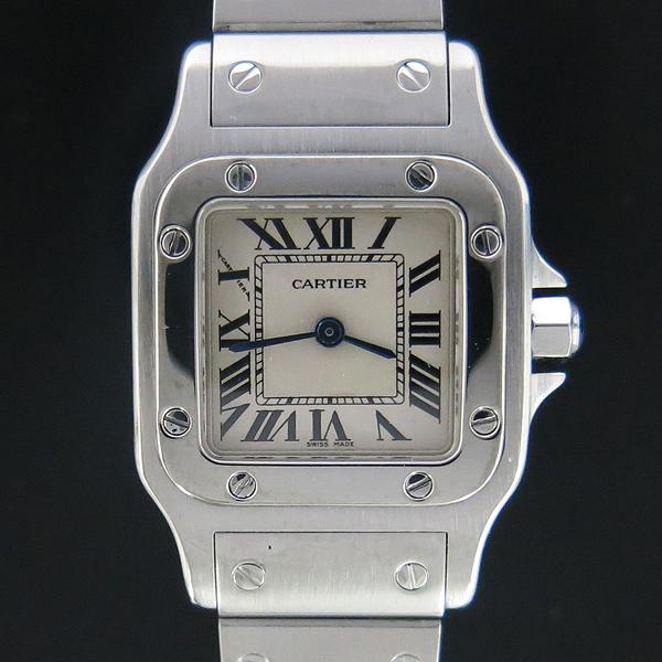 Cartier(까르띠에) W20056D6 산토스 갈베 S 사이즈 쿼츠 스틸 여성용 시계 [동대문점] 이미지2 - 고이비토 중고명품