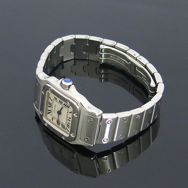 Cartier(까르띠에) W20056D6 산토스 갈베 S 사이즈 쿼츠 스틸 여성용 시계 [동대문점] 이미지3 - 고이비토 중고명품