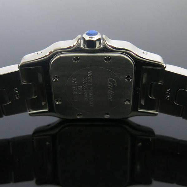 Cartier(까르띠에) W20056D6 산토스 갈베 S 사이즈 쿼츠 스틸 여성용 시계 [동대문점] 이미지5 - 고이비토 중고명품