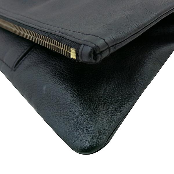 MULBERRY(멀버리) 로고 장식 블랙 레더 클러치백 [부산센텀본점] 이미지4 - 고이비토 중고명품