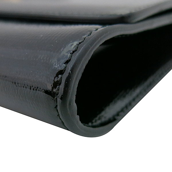 YSL(입생로랑) 265701 골드 로고 블랙 페이던트 카사시크 클러치백 [부산센텀본점] 이미지4 - 고이비토 중고명품