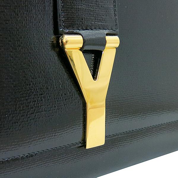YSL(입생로랑) 265701 골드 로고 블랙 페이던트 카사시크 클러치백 [부산센텀본점] 이미지5 - 고이비토 중고명품