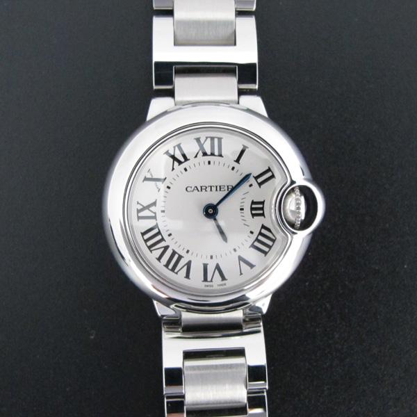Cartier(까르띠에) W69010Z4 발롱블루 드 까르띠에 S사이즈 쿼츠 28MM 스틸 여성용시계 [대구반월당본점]