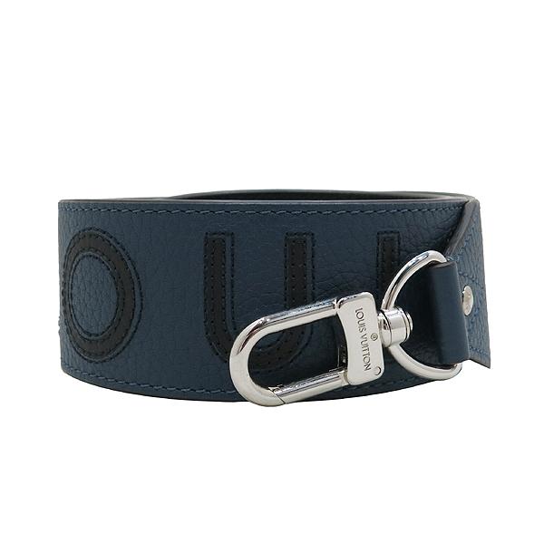 Louis Vuitton(루이비통) J02390 네이비 컬러 토뤼옹 블랙 로고 이니셜 반둘리에 숄더 스트랩 [인천점] 이미지2 - 고이비토 중고명품