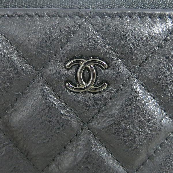 Chanel(샤넬) A82365Y25928 블랙 레더 COCO 로고 미니 파우치 [동대문점] 이미지4 - 고이비토 중고명품
