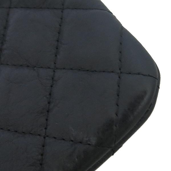 Chanel(샤넬) A82365Y25928 블랙 레더 COCO 로고 미니 파우치 [동대문점] 이미지5 - 고이비토 중고명품