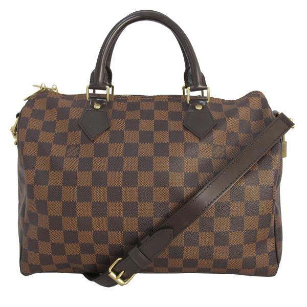 Louis Vuitton(루이비통) N41367 다미에 에벤 캔버스 스피디 반둘리에 30 토트백+숄더스트랩 [대구반월당본점]