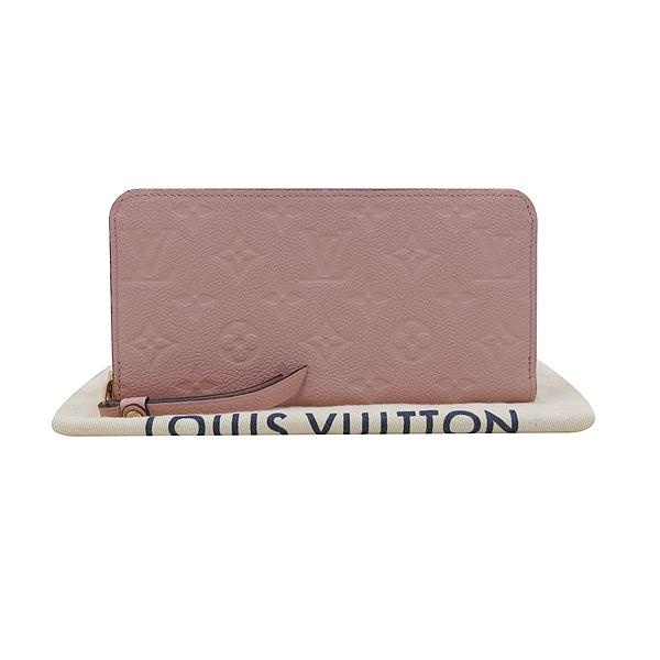 Louis Vuitton(루이비통) M64090 모노그램 앙프렝트 ROSE PUDNE 컬러 지피 월릿 장지갑 [인천점]