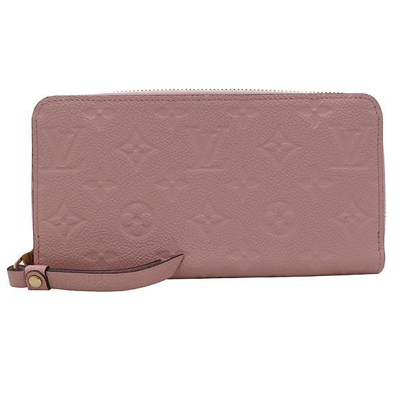 Louis Vuitton(루이비통) M64090 모노그램 앙프렝트 ROSE PUDNE 컬러 지피 월릿 장지갑 [인천점] 이미지2 - 고이비토 중고명품