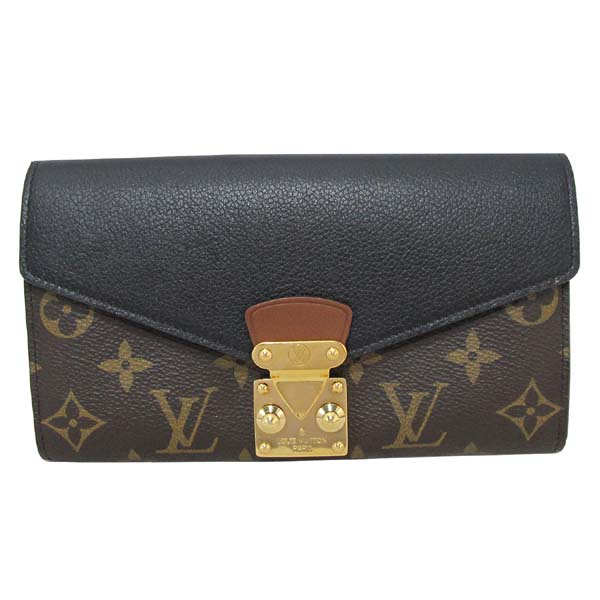 Louis Vuitton(루이비통) M58415 모노그램 캔버스 블랙 컬러 팔라스 월릿 장지갑 [대구반월당본점] 이미지2 - 고이비토 중고명품