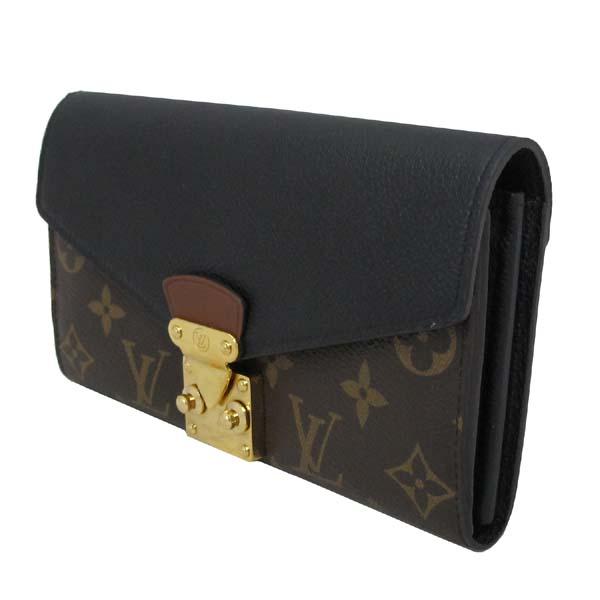 Louis Vuitton(루이비통) M58415 모노그램 캔버스 블랙 컬러 팔라스 월릿 장지갑 [대구반월당본점] 이미지3 - 고이비토 중고명품