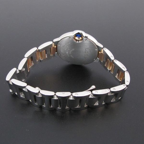 Cartier(까르띠에) WE902044 발롱블루 로즈골드 콤비 11포인트 다이아 33MM 여성용 시계 [대구반월당본점] 이미지4 - 고이비토 중고명품