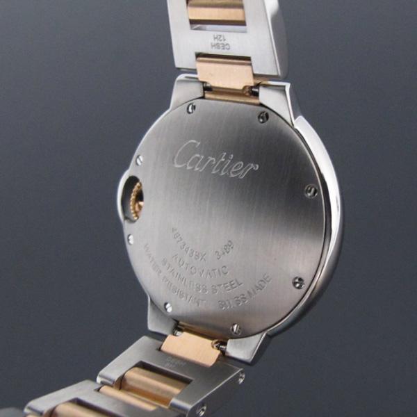 Cartier(까르띠에) WE902044 발롱블루 로즈골드 콤비 11포인트 다이아 33MM 여성용 시계 [대구반월당본점] 이미지5 - 고이비토 중고명품