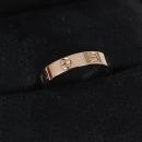 Cartier(까르띠에) 18K 골드 웨딩러브링 여성용 반지(10호)[광주1]