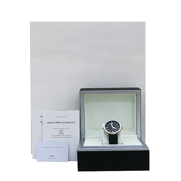 IWC(아이더블유씨) IW329001 Aquatimer(아쿠아타이머)오토매틱 42MM 러버밴드 남성용 시계 [부산센텀본점]