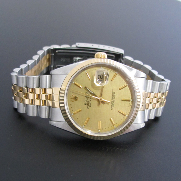 Rolex(로렉스) 16233 18K 콤비 DATEJUST(데이저스트) 남성용 시계 [대구반월당본점] 이미지2 - 고이비토 중고명품