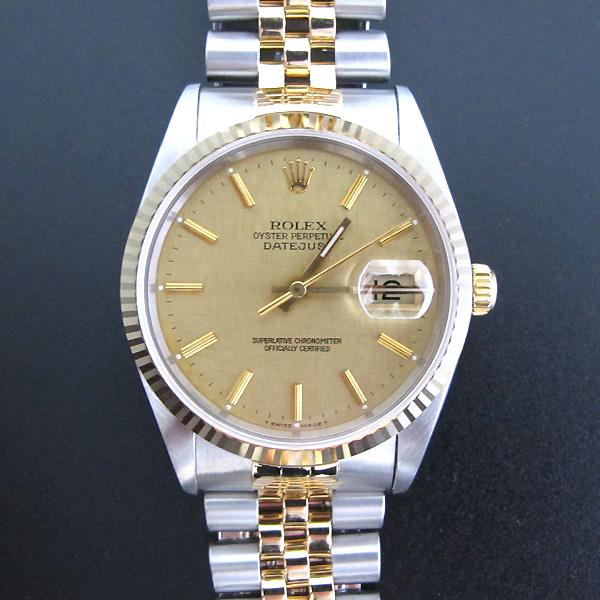 Rolex(로렉스) 16233 18K 콤비 DATEJUST(데이저스트) 남성용 시계 [대구반월당본점]