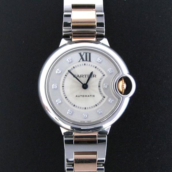 Cartier(까르띠에) WE902044 발롱블루 로즈골드 콤비 11포인트 다이아 33MM 여성용 시계 [대구반월당본점] 이미지2 - 고이비토 중고명품