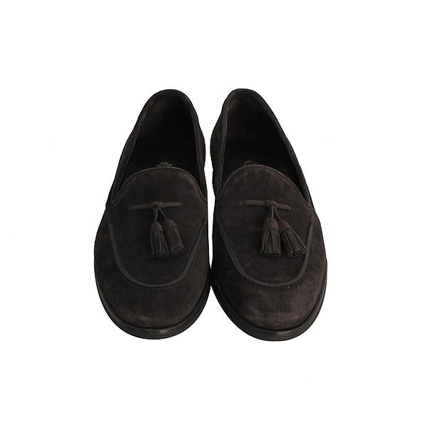 LORO PIANA(로로피아나) 브라운 컬러 스웨이드 여성용 테슬 로퍼 [동대문점]
