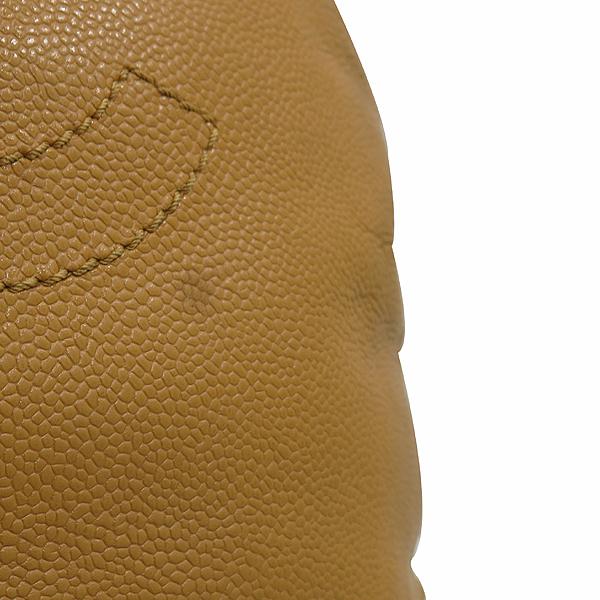 Chanel(샤넬) 캐비어스킨 정방 베이지 바겟 숄더백 [인천점] 이미지5 - 고이비토 중고명품