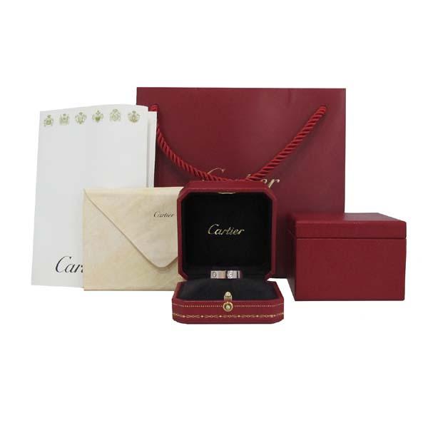 Cartier(까르띠에) B4084763 18K 화이트골드 러브링 반지 - 23호 [대구반월당본점]