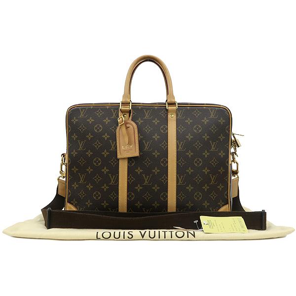 Louis Vuitton(루이비통) M40223 모노그램 캔버스 포르테 다큐먼트 보야지 GM 토트백 + 숄더 스트랩 [강남본점]