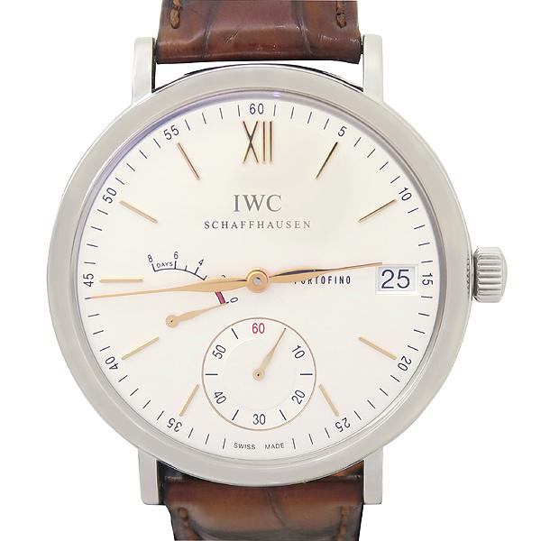 IWC(아이더블유씨) IW510103 포르토피노 8DAYS 파워리저브 인디게이터 크로커다일 밴드 수동 남성 시계 [강남본점] 이미지2 - 고이비토 중고명품