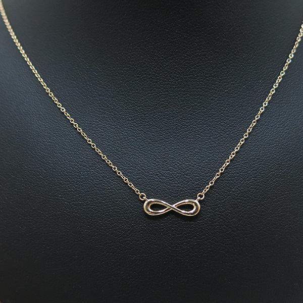 Tiffany(티파니) 18K AU750 핑크골드 인피니티 엔드리스 목걸이 [인천점] 이미지2 - 고이비토 중고명품