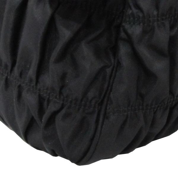 Prada(프라다) 1BA336 블랙 패브릭 신형 고프레 금장로고 토트백[대구반월당본점] 이미지4 - 고이비토 중고명품