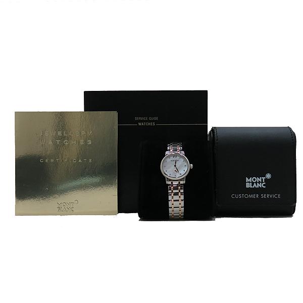 Montblanc(몽블랑) 110304 스타클래식 레이디 11포인트 다이아 30mm 18K 콤비 쿼츠 여성용 시계 [인천점]