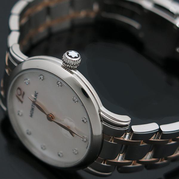 Montblanc(몽블랑) 110304 스타클래식 레이디 11포인트 다이아 30mm 18K 콤비 쿼츠 여성용 시계 [인천점] 이미지4 - 고이비토 중고명품