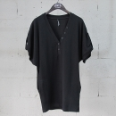 NEIL BARRETT(닐바렛) 면 100% 블랙 컬러 브리넥 여성용 오버사이즈 티셔츠 [동대문점]