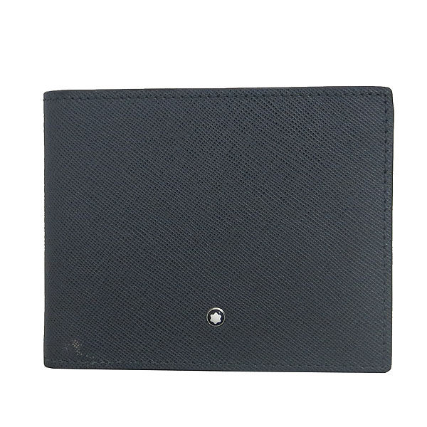 Montblanc(몽블랑) 116325 그레이 레더 사토리얼 6CC 지갑 [동대문점] 이미지2 - 고이비토 중고명품