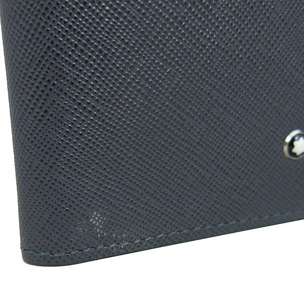 Montblanc(몽블랑) 116325 그레이 레더 사토리얼 6CC 지갑 [동대문점] 이미지4 - 고이비토 중고명품