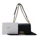Chanel(샤넬) A67086Y0765994305 블랙 램스킨 보이샤넬 S사이즈 금장 체인 숄더백 [인천점]