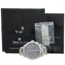 Tag Heuer(태그호이어) CJF2115 BA0576 그레이 다이얼 시스루백 크로노그래프 데이트 링크 42MM 스틸 오토매틱 남성용 시계 [강남본점]