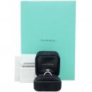 Tiffany(티파니) PT950 (플래티늄) 1.2 캐럿 다이아 H컬러 VVS2 웨딩 반지-10호 [강남본점]