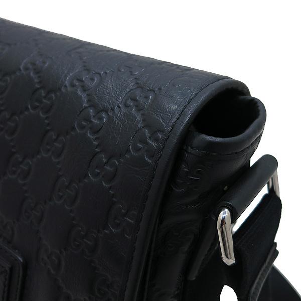 Gucci(구찌) 246067 블랙 GG 시마 레더 플랩 남성용 메신저 크로스백 [인천점] 이미지5 - 고이비토 중고명품