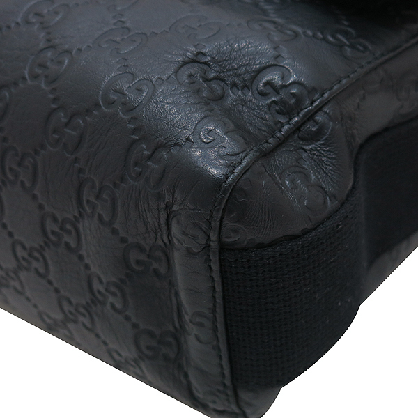 Gucci(구찌) 246067 블랙 GG 시마 레더 플랩 남성용 메신저 크로스백 [인천점] 이미지6 - 고이비토 중고명품