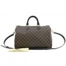 Louis Vuitton(루이비통) N41366 다미에 에벤 스피디 반둘리에 35 토트백 + 숄더스트랩 [강남본점]