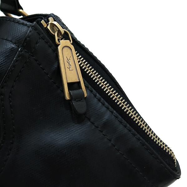 YSL(입생로랑) 175884 블랙 레더 다운타운 포켓 벨트 장식 토트백 [인천점] 이미지4 - 고이비토 중고명품