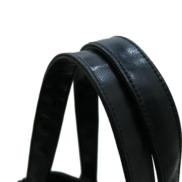YSL(입생로랑) 175884 블랙 레더 다운타운 포켓 벨트 장식 토트백 [인천점] 이미지5 - 고이비토 중고명품