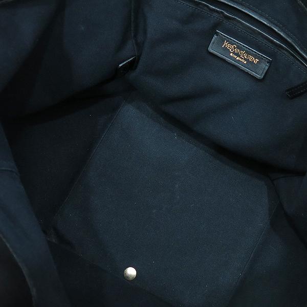 YSL(입생로랑) 175884 블랙 레더 다운타운 포켓 벨트 장식 토트백 [인천점] 이미지7 - 고이비토 중고명품