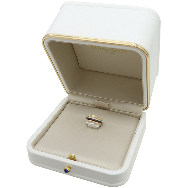 BOUCHERON(부쉐론) 18K(750) QUATRE WEDDING RING (콰트로) CLASSIC(클래식) 4링 다이아 웨딩 반지 - 5호 [강남본점] 이미지2 - 고이비토 중고명품