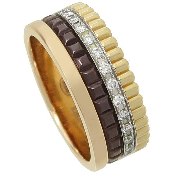 BOUCHERON(부쉐론) 18K(750) QUATRE WEDDING RING (콰트로) CLASSIC(클래식) 4링 다이아 웨딩 반지 - 5호 [강남본점] 이미지3 - 고이비토 중고명품