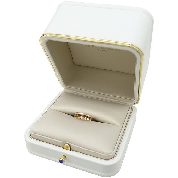 BOUCHERON(부쉐론) JAL00175 18K 골드 + 브라운 PDV QUATRE RING (콰트로) 클래식 웨딩 반지 - 14.5호 [강남본점] 이미지2 - 고이비토 중고명품
