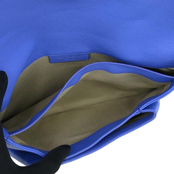 GIVENCHY(지방시) 라이트 퍼플 블루 컬러 레더 은장로고 안티고나 플랩 클러치 [강남본점] 이미지6 - 고이비토 중고명품