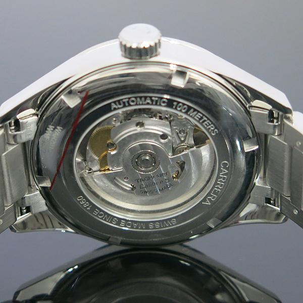 Tag Heuer(태그호이어) WAR201C 칼리버5 까레라/카레라 데이데이트 시스루백 오토매틱 스틸 남성용 시계 [동대문점] 이미지5 - 고이비토 중고명품