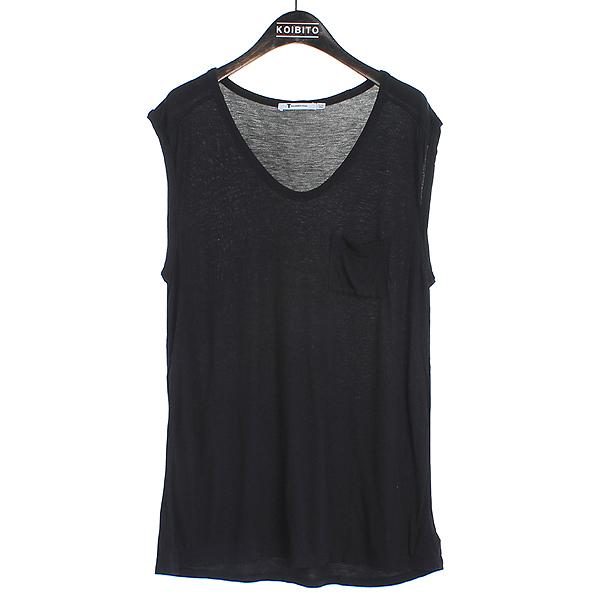 Alexanderwang(알렉산더 왕) 레이온 100% 블랙 컬러 여성용 민소매 티 [강남본점]