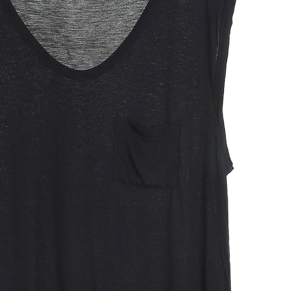 Alexanderwang(알렉산더 왕) 레이온 100% 블랙 컬러 여성용 민소매 티 [강남본점] 이미지3 - 고이비토 중고명품